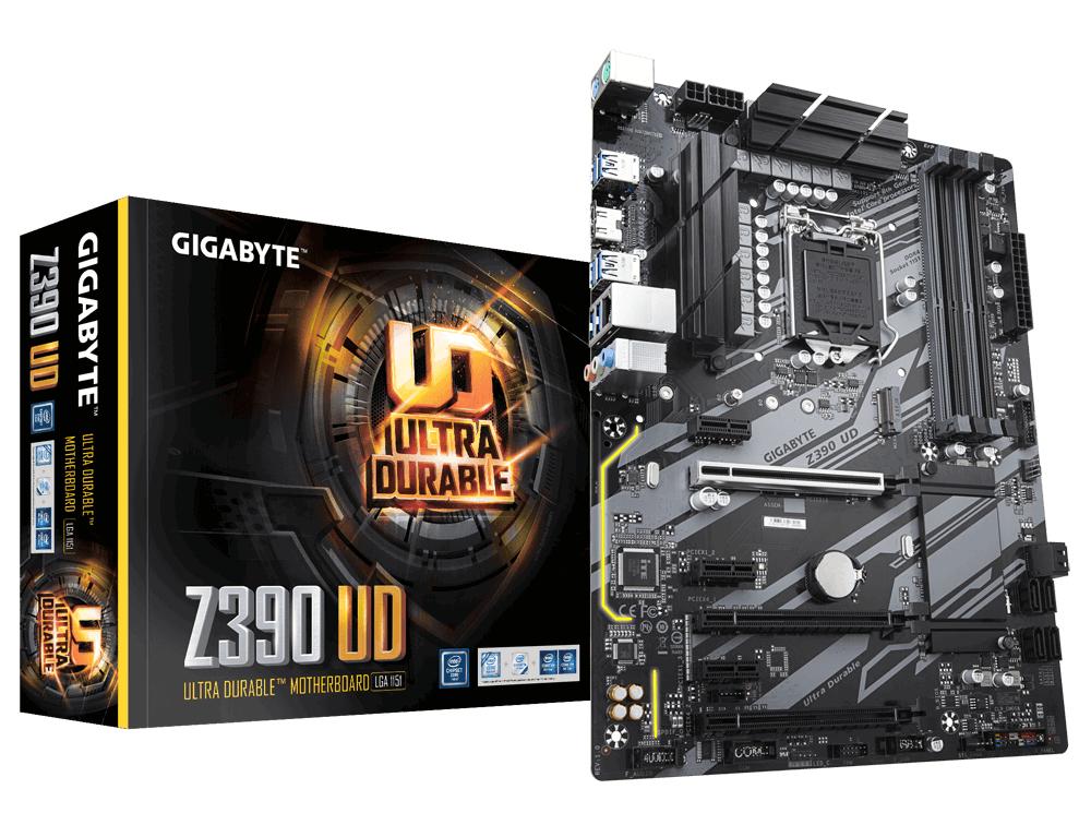 Z390 Ud Placa Base Lga 1151 (zócalo H4) Intel Z390 Atx