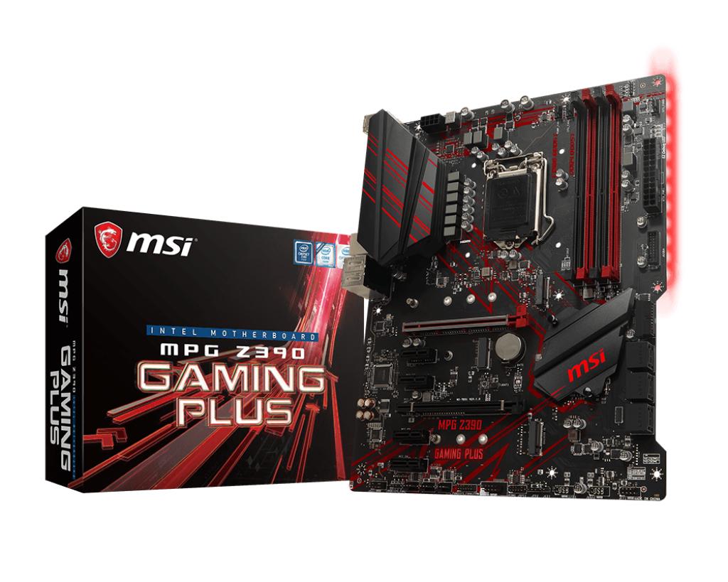 Mpg Z390 Gaming Plus Lga 1151 (zócalo H4) Intel Z390 Atx