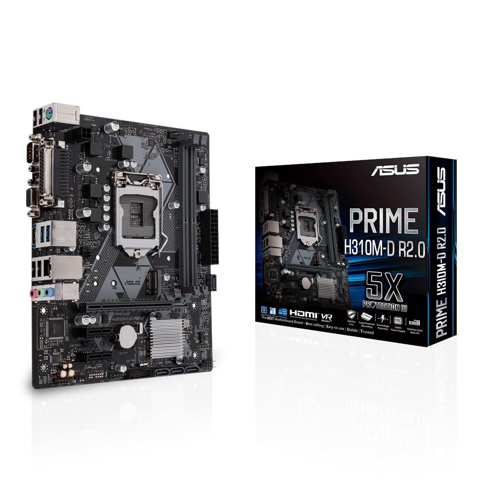 PRIME H310M-D R2.0 LGA 1151 (ZóCALO H4) INTEL® H310 MICRO ATX