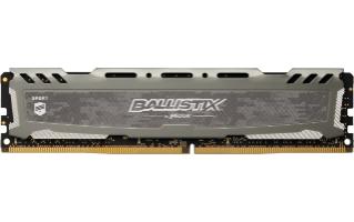 BALLISTIX SPORT LT GRAY MóDULO DE MEMORIA 8 GB DDR4 3000 MHZ
