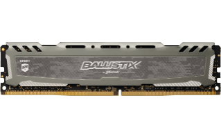 BALLISTIX SPORT LT GRAY MóDULO DE MEMORIA 16 GB DDR4 3000 MHZ
