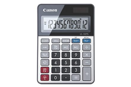 Ls-122ts Calculadora Escritorio Pantalla De Calculadora Gris