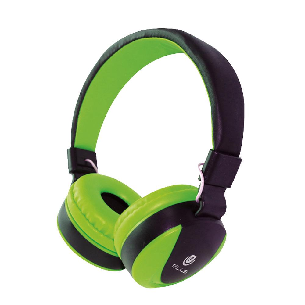 Auricular Tal-hph-5005 Con Microfono Green