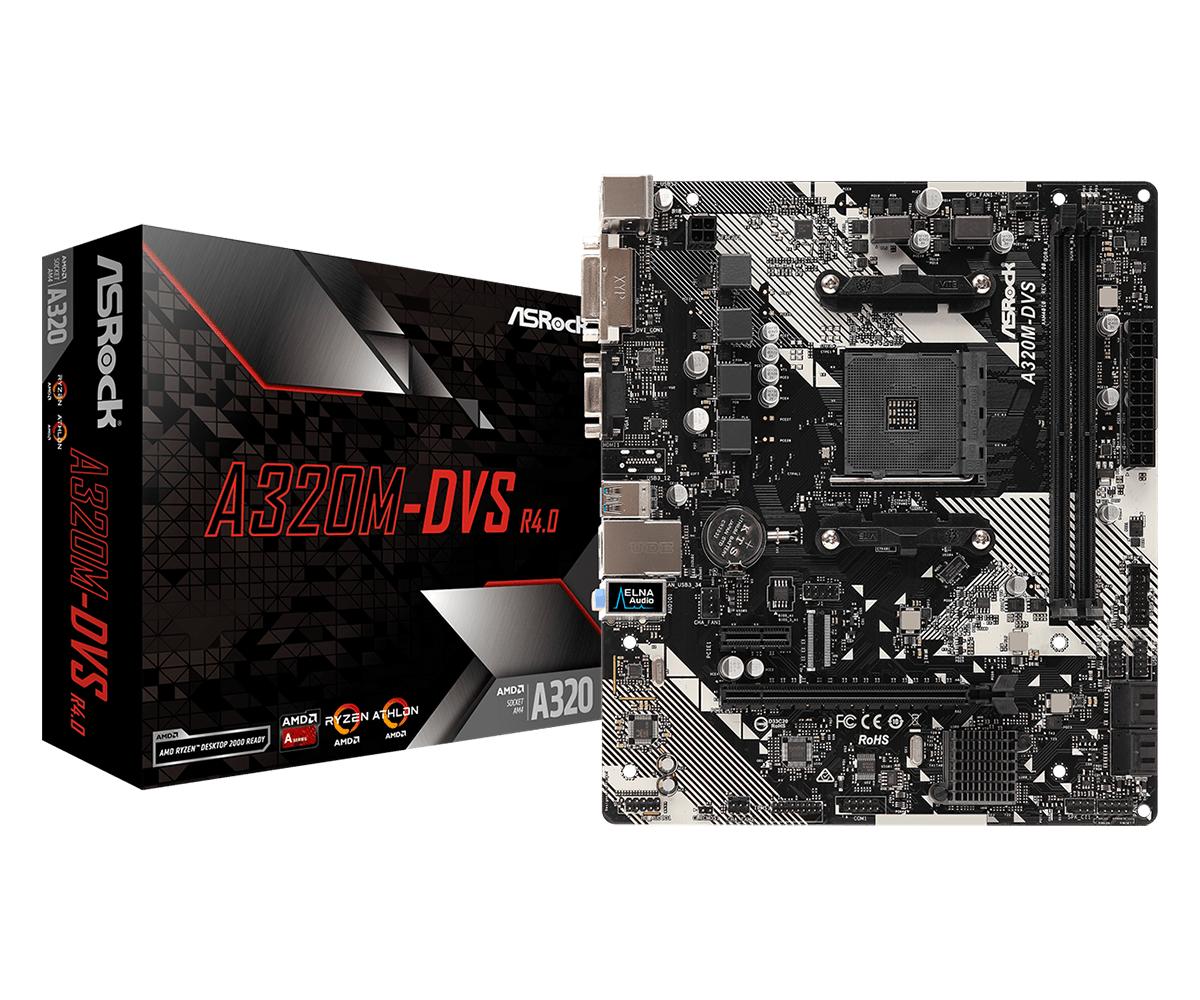 A320M-DVS R4.0 ZóCALO AM4 AMD A320 MICRO ATX