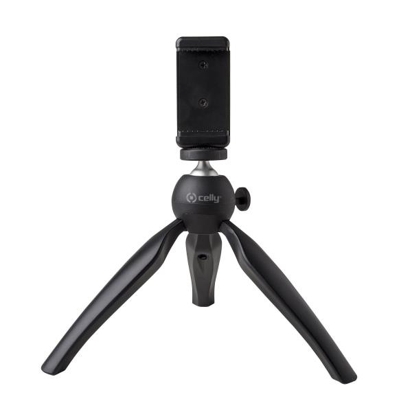Click Tri Tripode Smartphone/cámara Digital 3 Pata(s) Negro