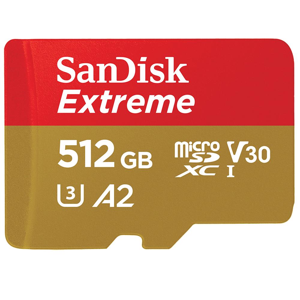 512GB MICROSDXC UHS-I MEMORIA FLASH CLASE 10