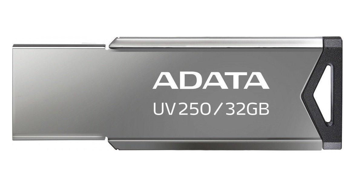 UV250 UNIDAD FLASH USB 32 GB USB TIPO A 2.0 PLATA