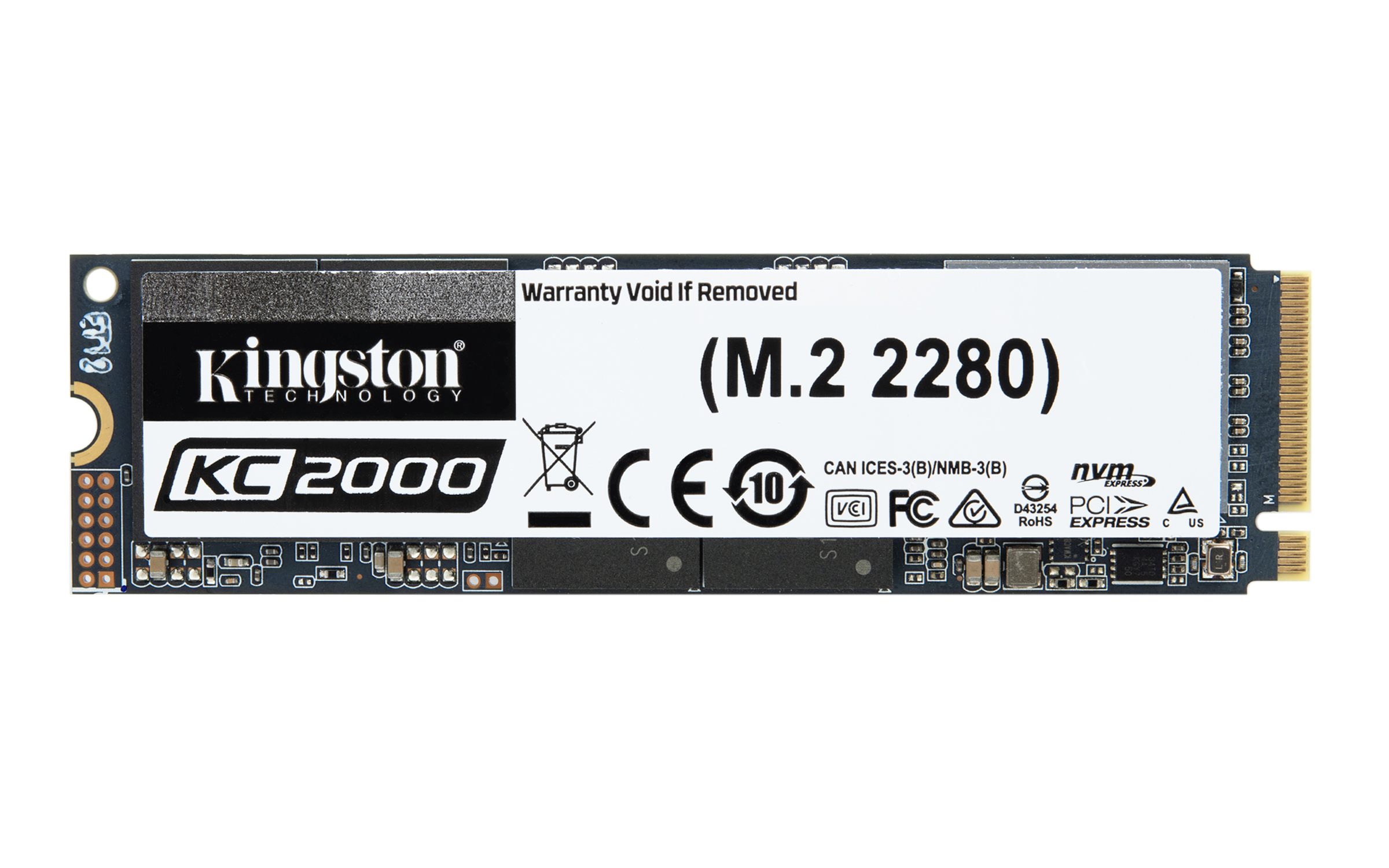 Kc2000 Unidad De Estado Sólido M.2 1000 Gb Pci Express 3.0 3d Tlc Nvme