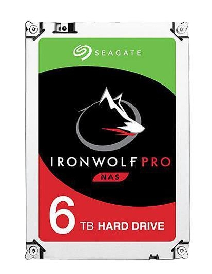 "IRONWOLF PRO ST6000NE000 DISCO DURO INTERNO 3.5"" 6000 GB SERIAL ATA III"