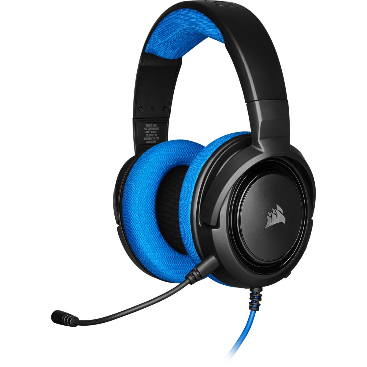 Hs35 Auriculares Diadema Negro, Azul Conector De 3,5 Mm
