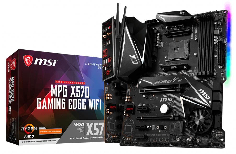X570 Gaming Edge Wifi Placa Base Zócalo Am4 Atx Amd X570