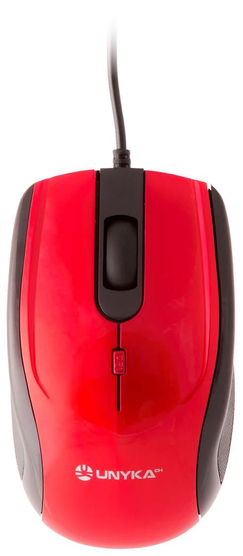 UK A 800 RATóN USB ÓPTICO 1600 DPI AMBIDEXTRO