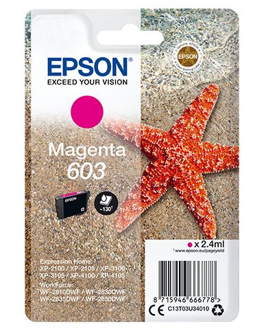 Singlepack Magenta 603 Ink 0.0
