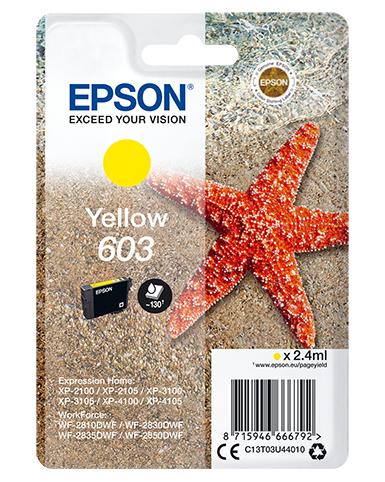 Singlepack Yellow 603 Ink 0.0