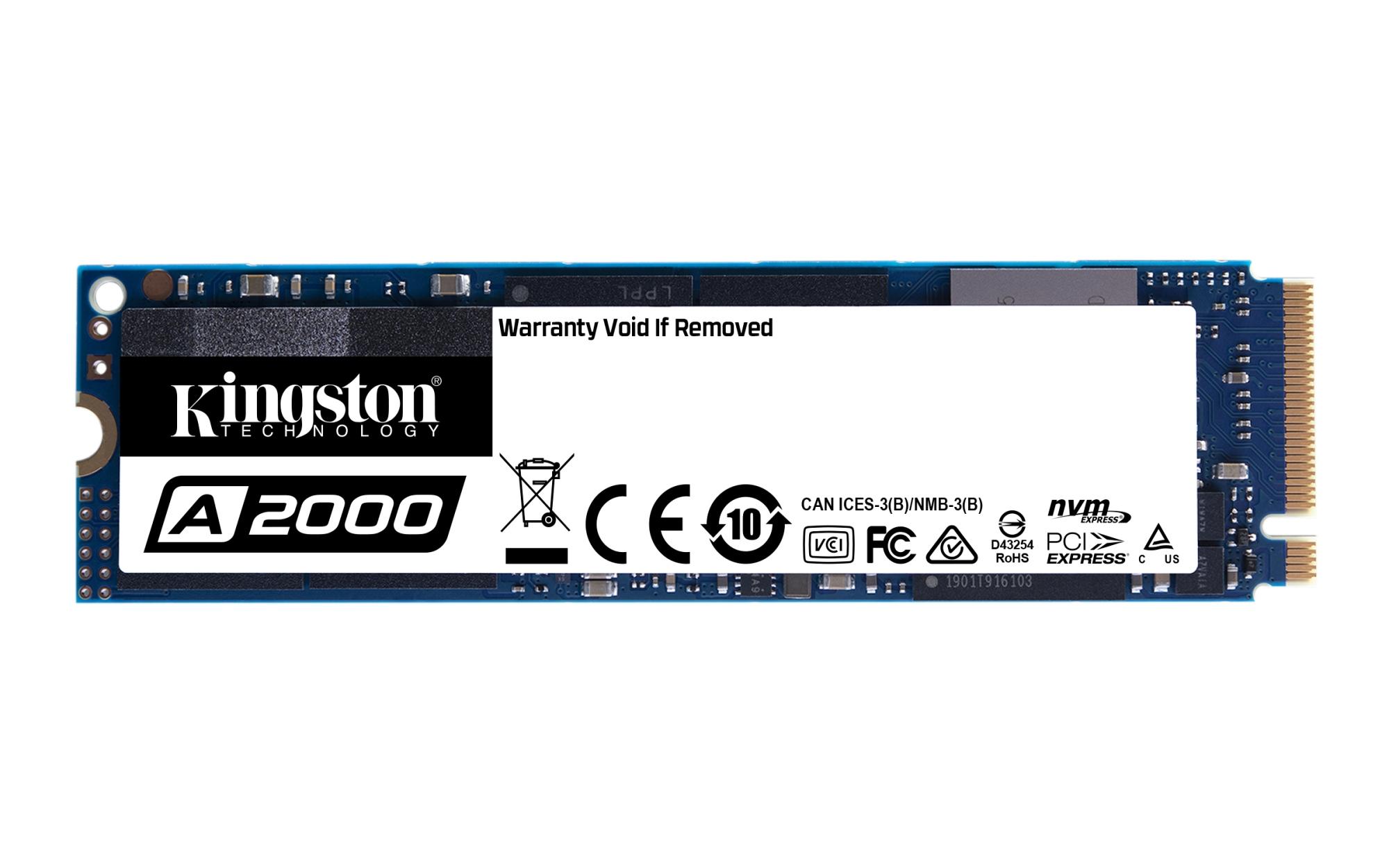 A2000 UNIDAD DE ESTADO SóLIDO M.2 250 GB PCI EXPRESS 3.0 NVME