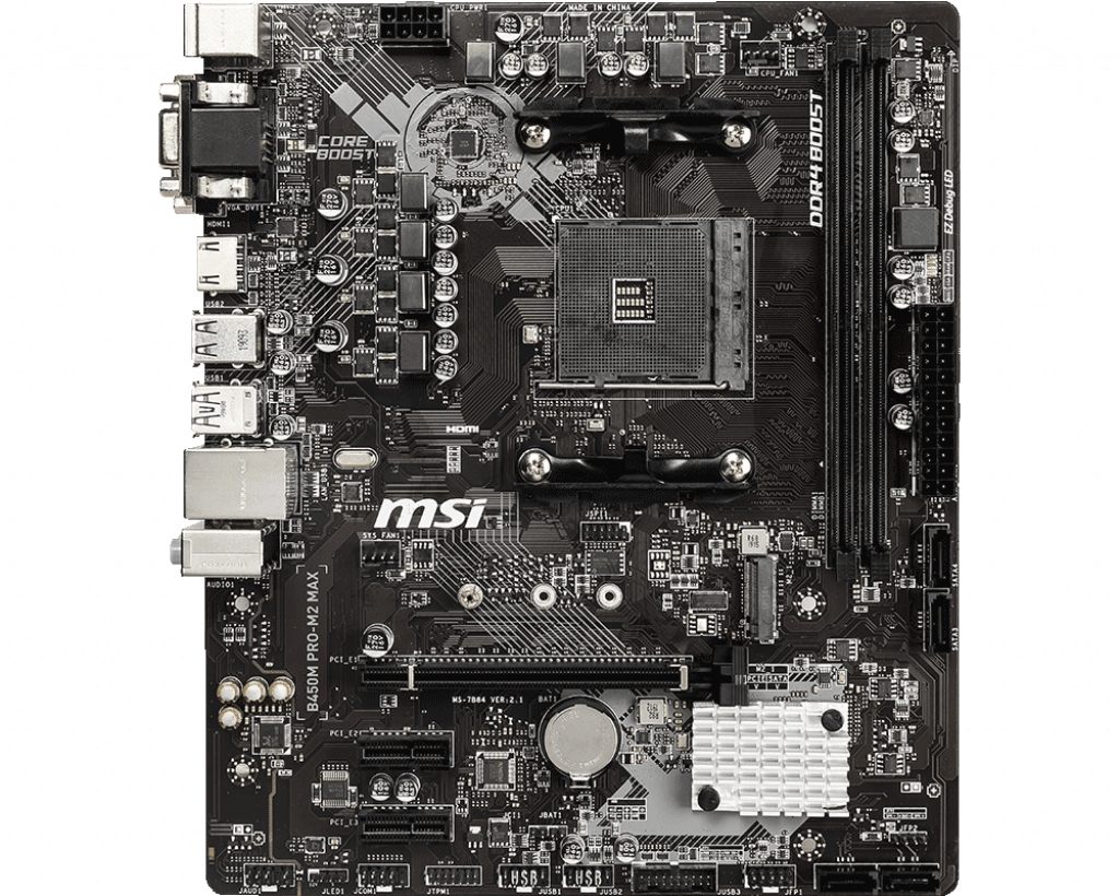 B450m Pro-m2 Max Placa Base Zócalo Am4 Micro Atx Amd B450
