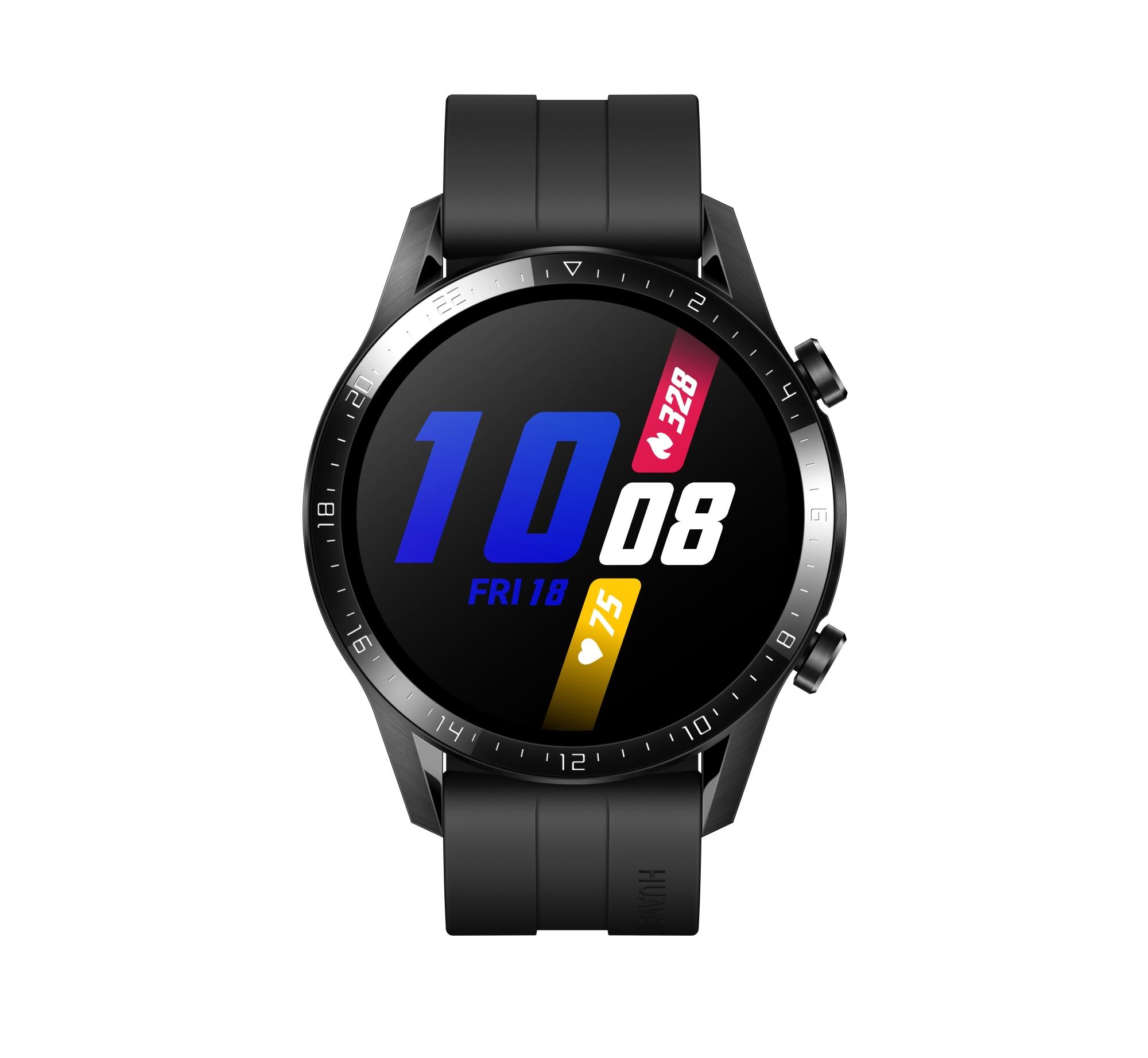 "WATCH GT 2 RELOJ INTELIGENTE NEGRO AMOLED 3,53 CM (1.39"") GPS (SATéLITE)"