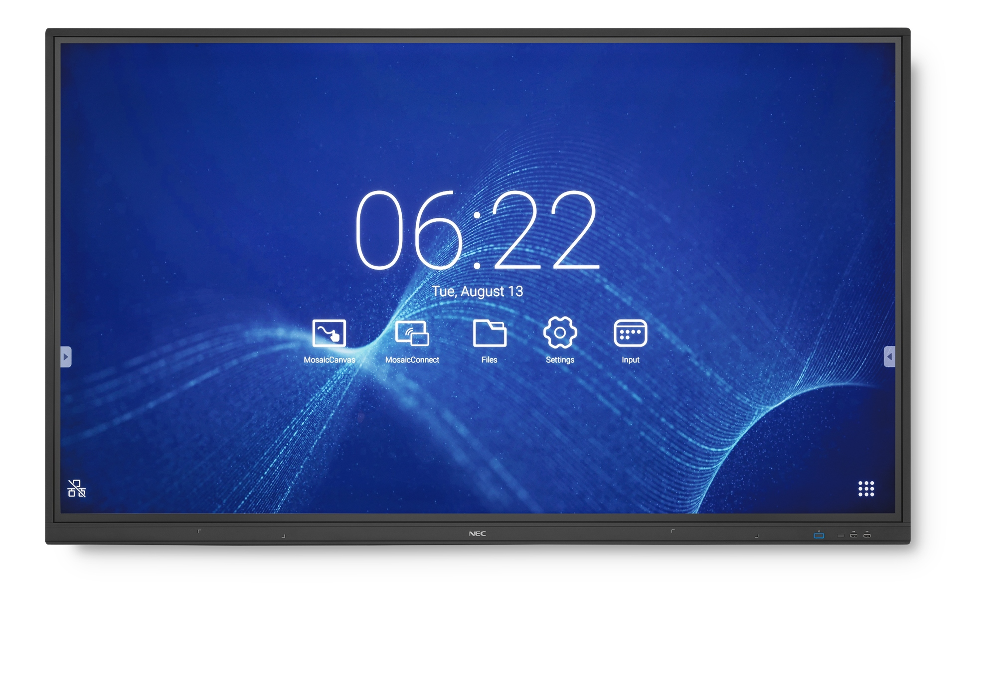 "MULTISYNC CB751Q 190,5 CM (75"") LED 4K ULTRA HD PANTALLA TáCTIL PANEL PLANO INTERACTIVO NEGRO"