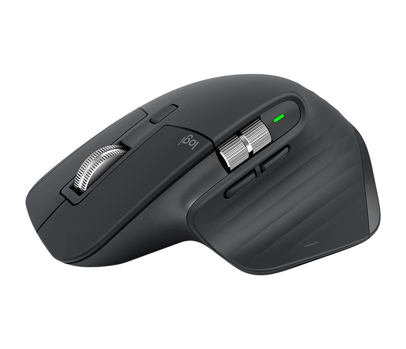 Mx Master 3 Ratón Rf Inalámbrica + Bluetooth Laser 4000 Dpi Mano Derecha 0.0