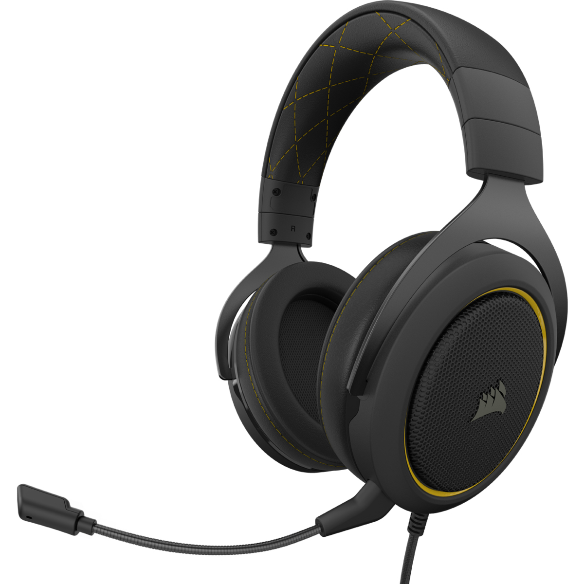 Hs60 Pro Stereo Auriculares Diadema Negro, Amarillo