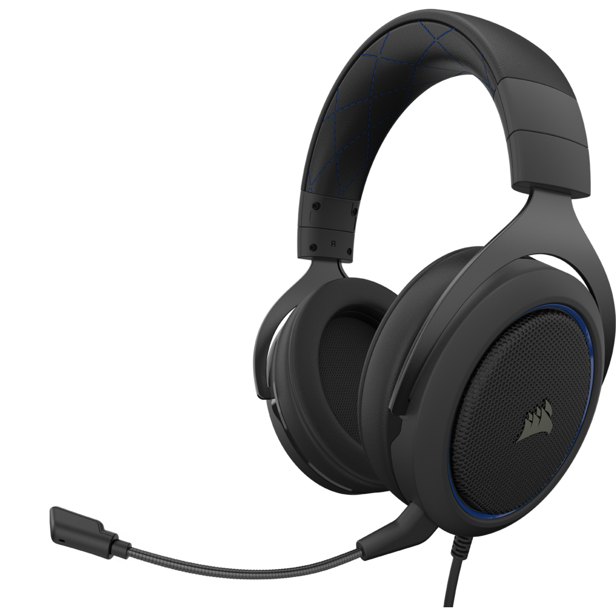 Hs60 Pro Stereo Auriculares Diadema Negro, Azul