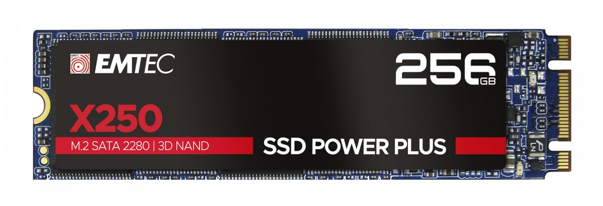 X250 M.2 256 GB SERIAL ATA III 3D NAND