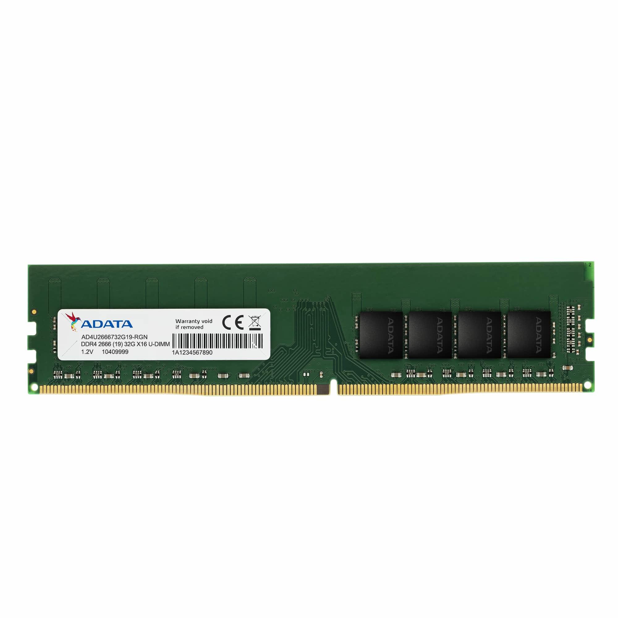 AD4U2666716G19-B MóDULO DE MEMORIA 16 GB DDR4 2666 MHZ