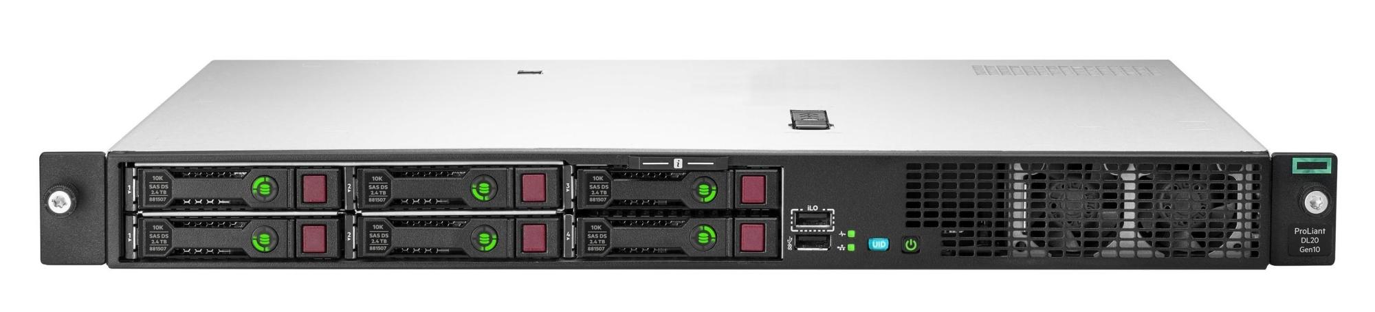 Proliant Dl20 Gen10 (perfdl20-007) + Windows Server 2019 Essentials Servidor 3,4 Ghz Intel® Xeon® Bastidor (1u) 500 W