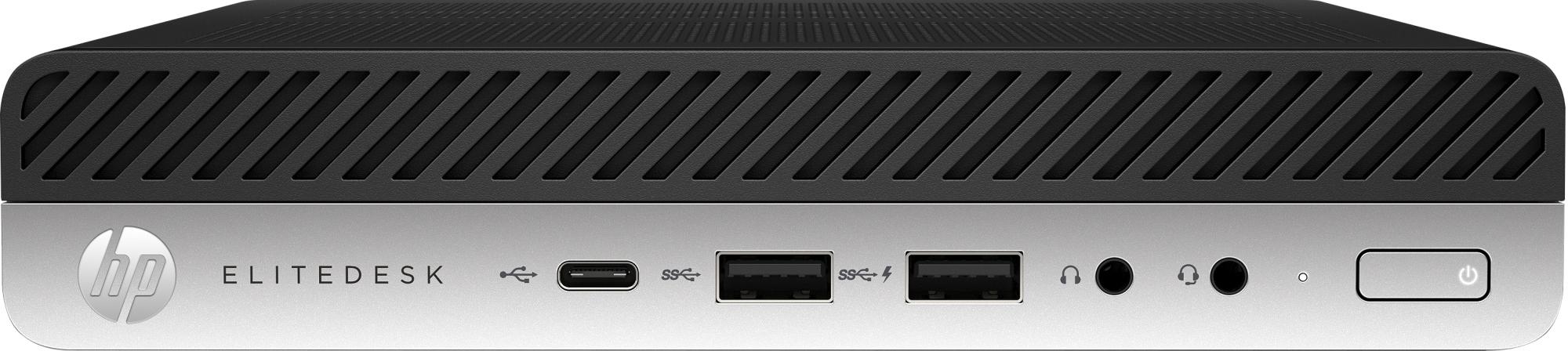 Elitedesk 705 G5 Amd Ryzen 5 Pro 3400ge 8 Gb Ddr4-sdram 256 Gb Ssd Mini Pc Negro Windows 10 Pro