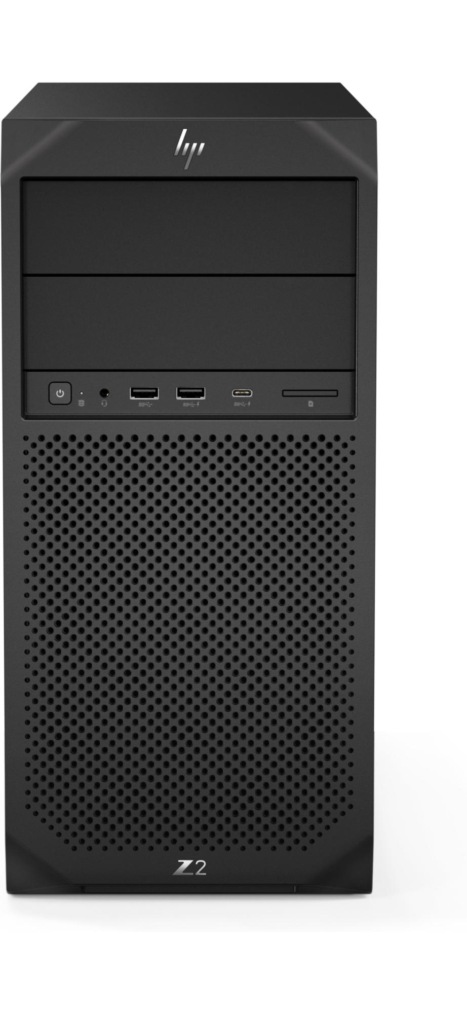 Z2 G4 9na Generación De Procesadores Intel® Core™ I7 I7-9700 16 Gb Ddr4-sdram 1256 Gb Hdd+ssd Tower Negro Puesto De Trabajo Windows 10 Pro
