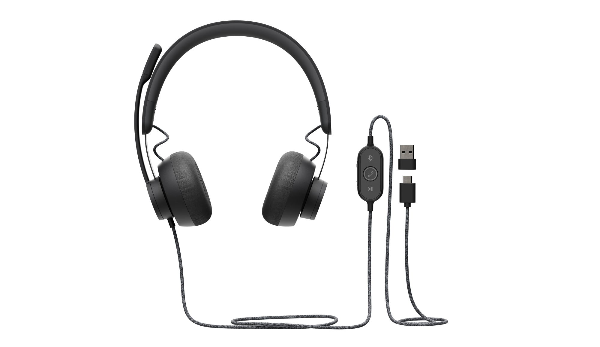 ZONE WIRED UC AURICULARES DIADEMA NEGRO