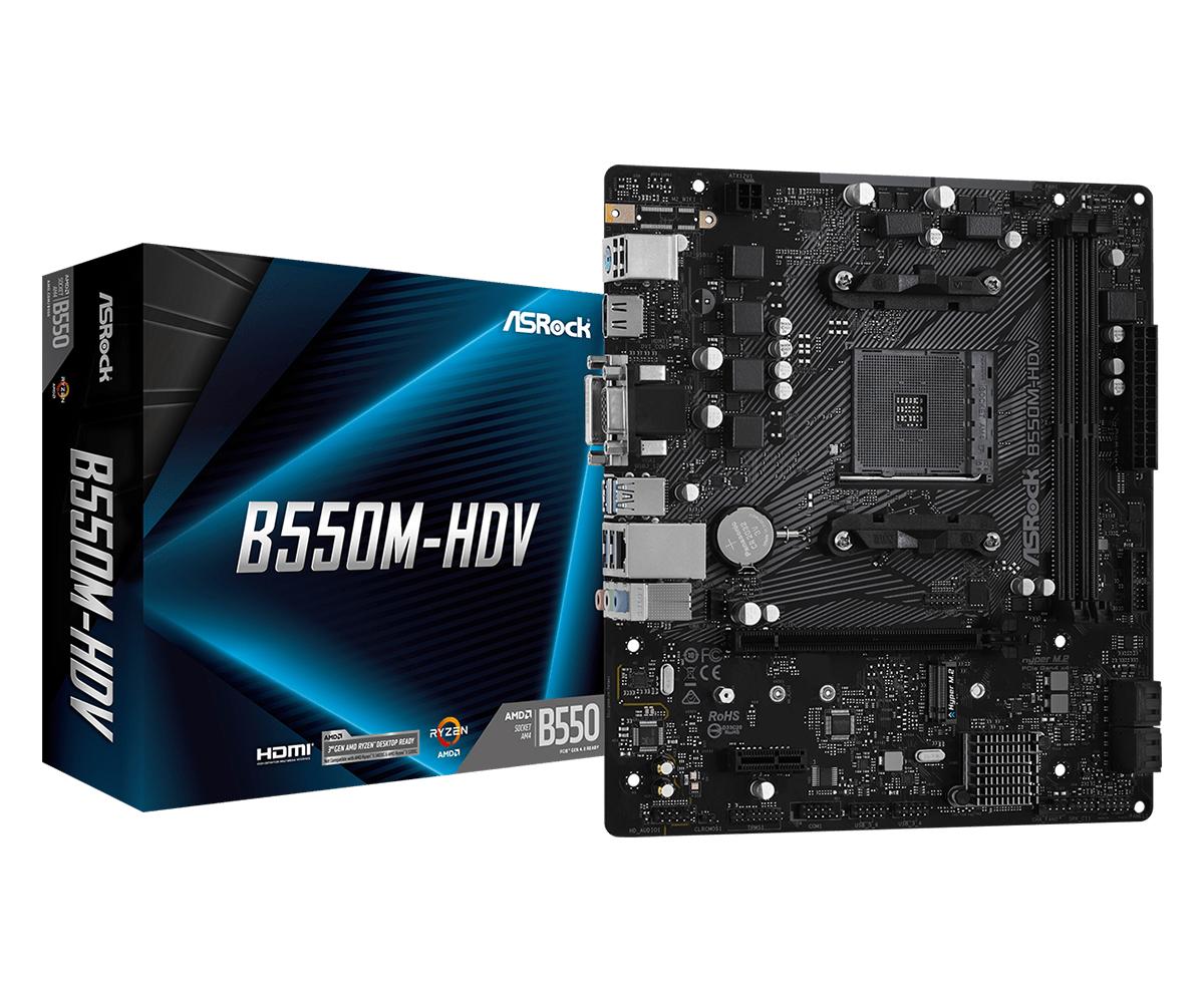 B550M-HDV ZóCALO AM4 MICRO ATX AMD B550