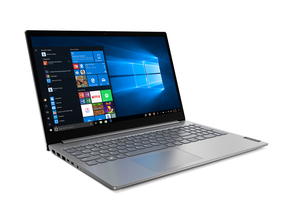 "THINKBOOK 15 PORTáTIL 39,6 CM (15.6"") 1920 X 1080 PIXELES INTEL® CORE™ I5 DE 10MA GENERACIóN 8 GB DDR4-SDRAM 256 GB SSD WI-FI 6 (802.11AX) WINDOWS 10 PRO GRIS"