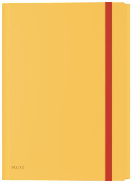 46190019 CARPETA POLIPROPILENO (PP) AMARILLO A4