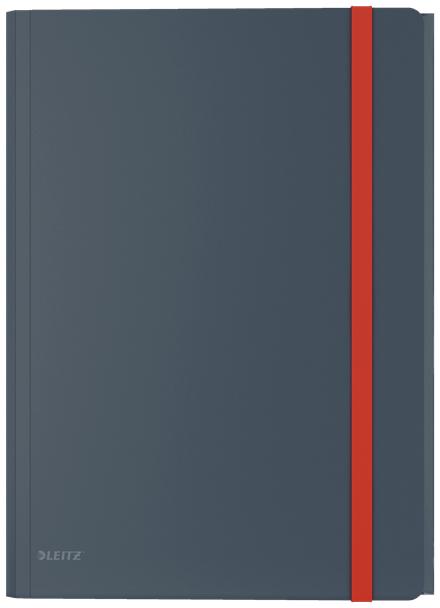 46190089 CARPETA POLIPROPILENO (PP) NEGRO A4