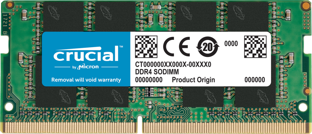 Ct8g4sfra266 Módulo De Memoria 8 Gb 1 X 8 Gb Ddr4 2666 Mhz 0.0