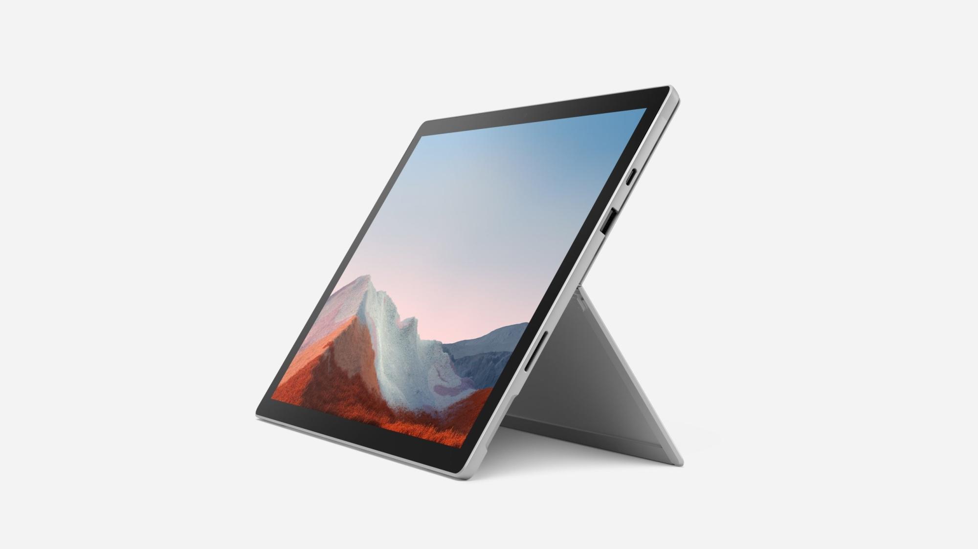 Surface Pro 7+ 256 Gb 31,2 Cm (12.3) Intel Core I7-11xxx 16 Gb Wi-fi 6 (802.11ax) Windows 10 Pro Platino