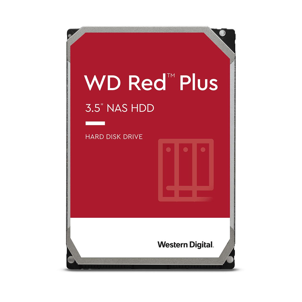 Wd Red Plus 3.5 4000 Gb Serial Ata Iii