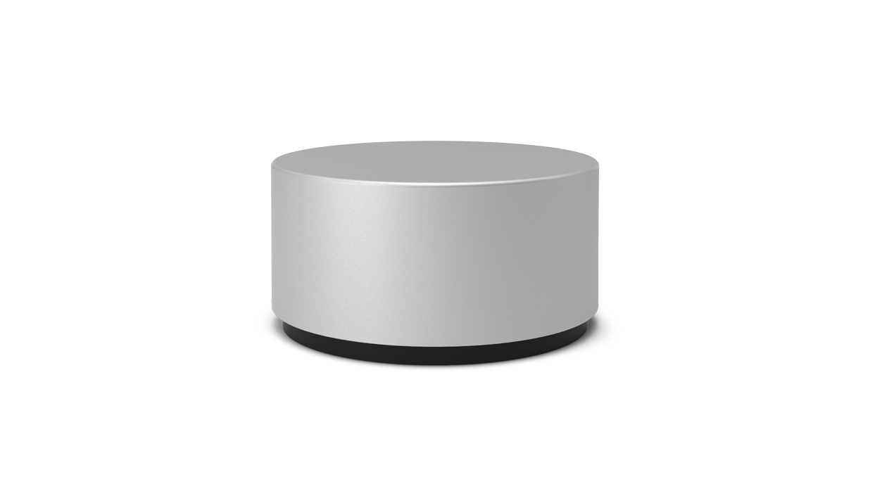 Surface Dial Companion Touch Screen Bluetooth Aluminio