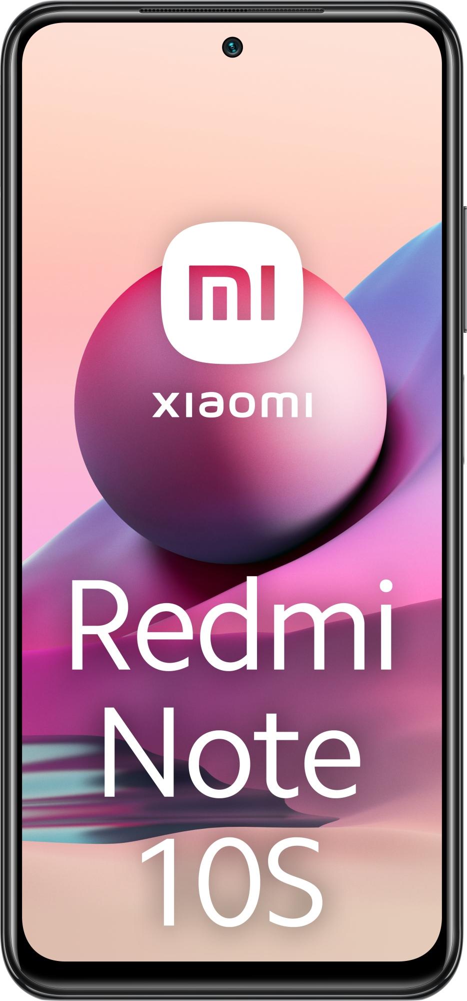 "REDMI NOTE 10S 16,3 CM (6.43"") SIM DOBLE MIUI 12.5 4G USB TIPO C 6 GB 128 GB 5000 MAH GRIS"
