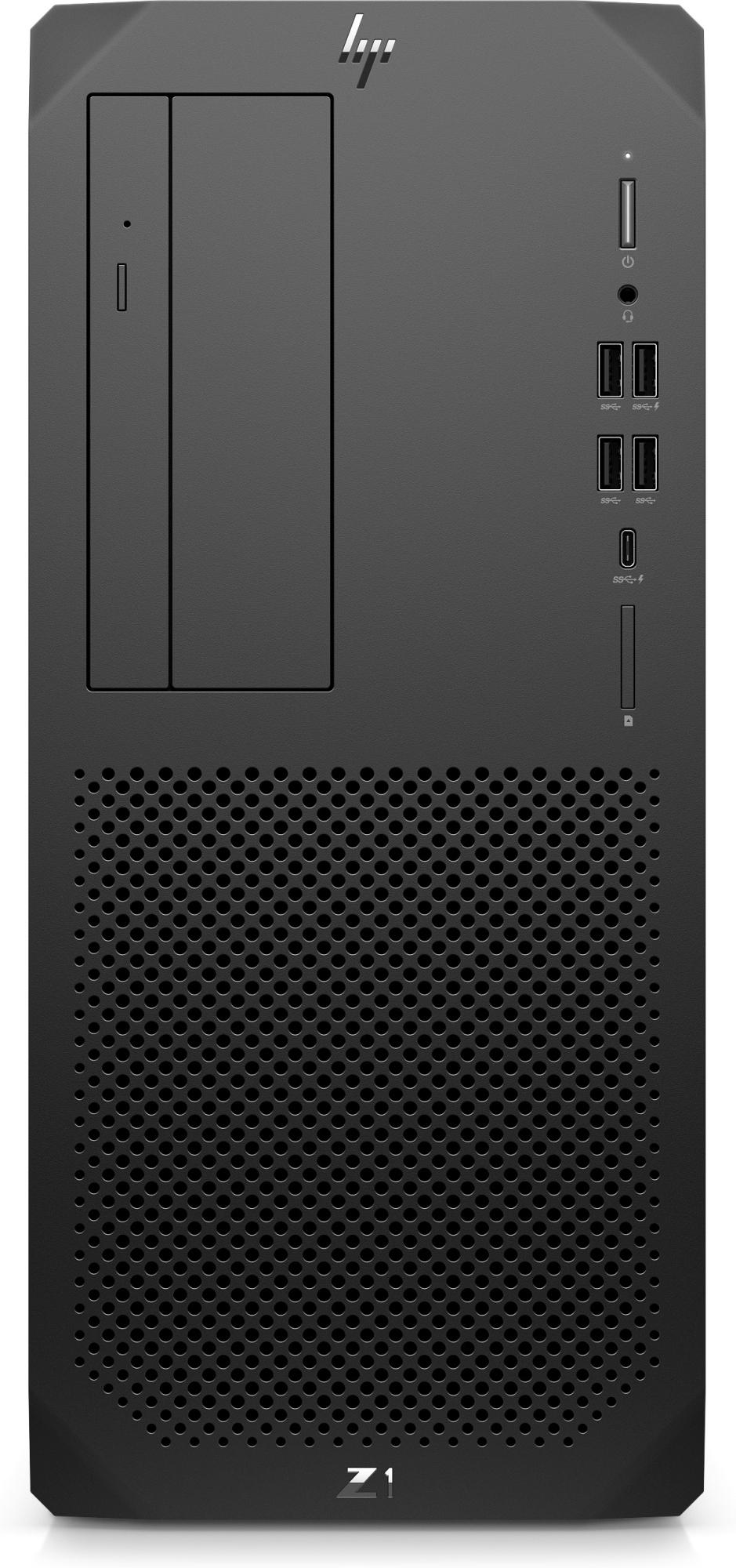 Z1 G8 Ddr4-sdram I7-11700 Torre Intel® Core™ I7 De 11ma Generación 16 Gb 512 Gb Ssd Windows 10 Pro Pc Negro
