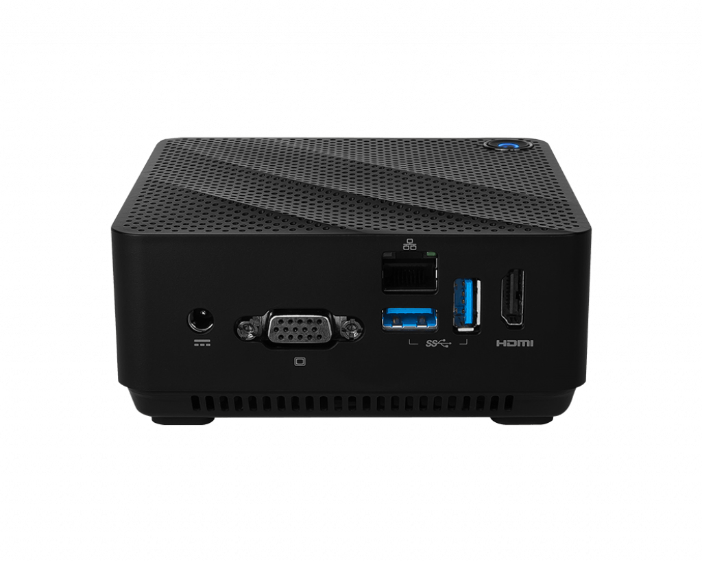 CUBI N JSL-001BEU PC/ESTACIóN DE TRABAJO BAREBONE 0,45 L TAMAñO PC NEGRO INTEL® SOC N6000 1,1 GHZ