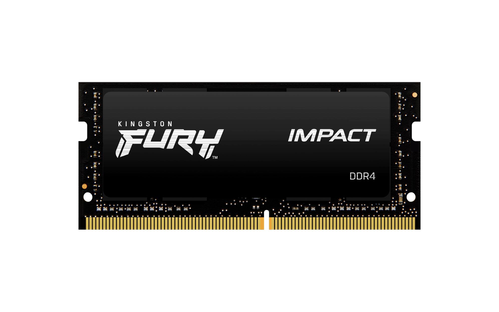 FURY IMPACT MóDULO DE MEMORIA 8 GB 1 X 8 GB DDR4 2666 MHZ